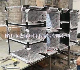 厂家供应定制不锈钢架子,置物架,不锈钢酒柜,摆放架