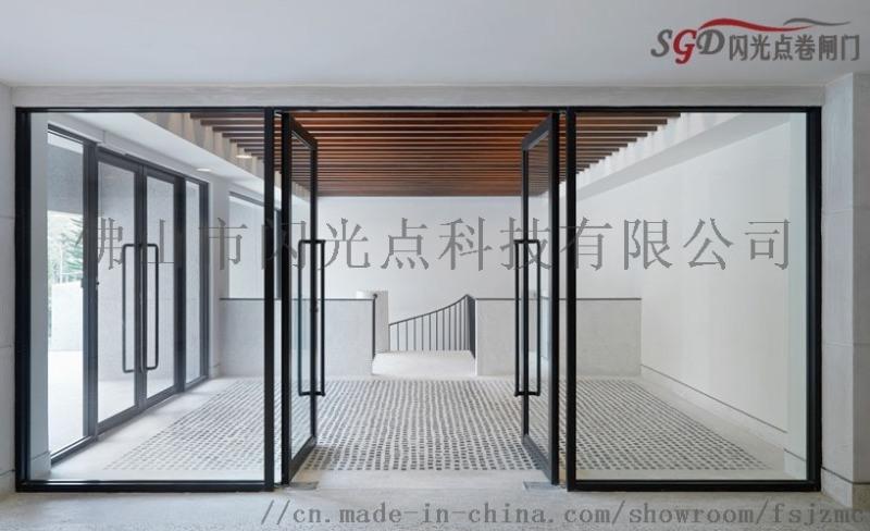 電動感應門 銀行電動感應門 商用玻璃門大門