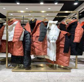 卡拉贝斯东莞折扣女装库存外贸服装市场品牌折扣女装
