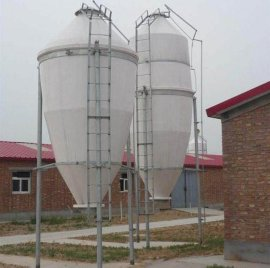 厂家供应玻璃钢**塔 全自动养殖料塔