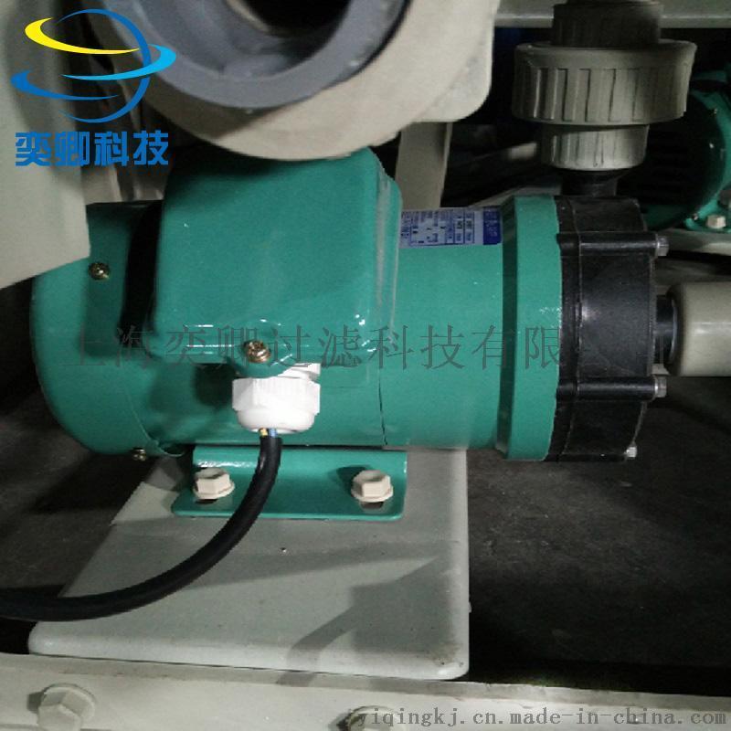 上海化學液電鍍過濾機