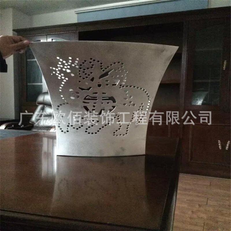 定制弧形铝单板雕花图案铝单板厂家直销来图定制
