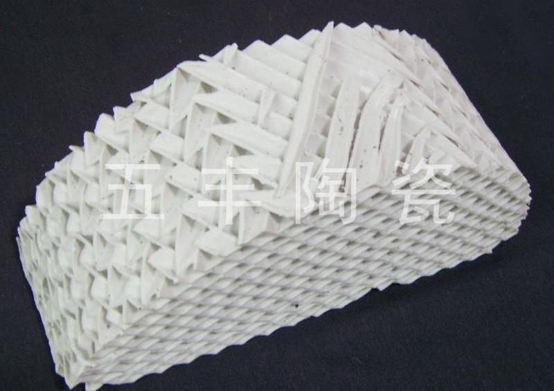 陶瓷波纹板填料