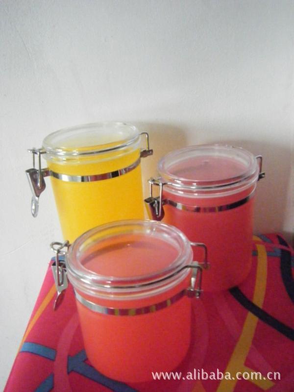 干果密封塑料罐 易扣罐