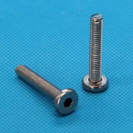 厂家直销 供应316不锈钢 平头内六角家俱螺丝