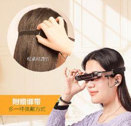头戴式摄影VR一体机游戏头盔带摄像头的看电影拍摄录像视频眼镜