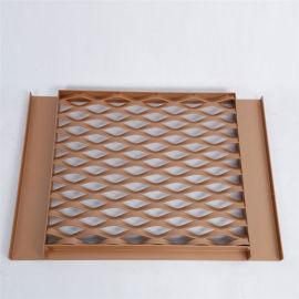 安平匯金廠家直銷規格定制的建築裝飾鋁板網