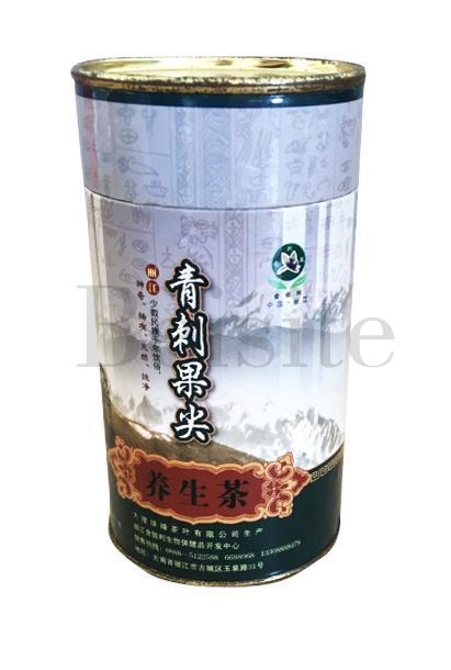 供应青刺果尖茶铁罐 养生茶铁盒包装专业定制