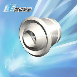 厂家生产定制 铝合金球形喷射口 中央空调出风口 远程射流风口