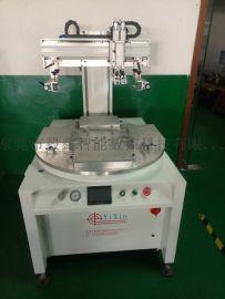 东莞深圳四工位转盘式玻璃丝印机