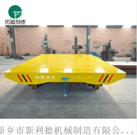 砖厂专用轨道车无动力地轨车电线卷筒