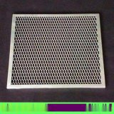 菱形网格冲孔天花网板 专业定制店铺广告牌铝网板