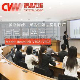 BEAMLINK-VT02+VR02低延時無線錄播視頻傳輸系統