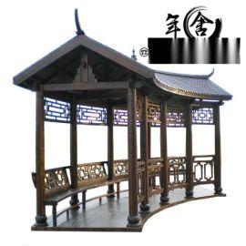 重庆长廊厂家古建长廊木长廊定制
