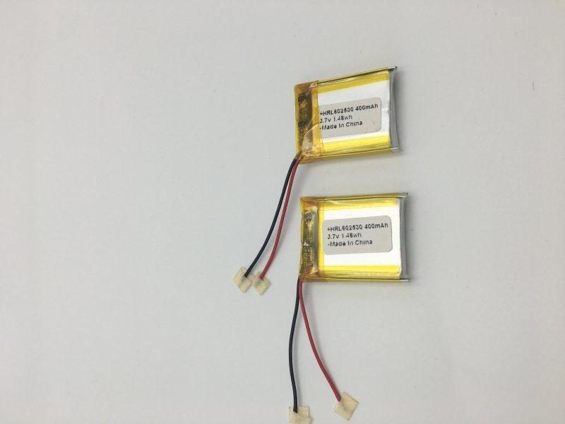 602530-400mah华瑞隆聚合物锂电池