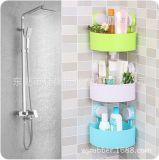 厨房双吸盘镂空调料瓶置物架壁挂免打孔浴室沥水沐浴露