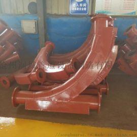 天津陶瓷贴片耐磨弯头 陶瓷复合耐磨弯头专业耐磨管道