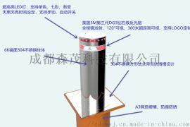 四川成都液压升降柱/学校全自动升降柱/地桩厂家