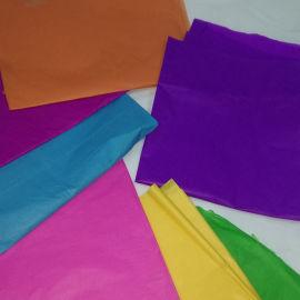 东莞染色防火棉纸彩色包装纸厂家14克卷筒阻燃棉纸