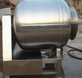 供应鸡爪子腌制真空滚揉机 不锈钢反转出料滚揉机