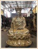 铜雕正圆铜雕地藏王菩萨厂家,温州铸铜地藏王佛像定做