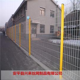 围墙防攀爬网 绿化网片围墙 铁路护栏网厂家