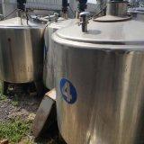 现货出售10台二手搅拌罐 二手2立方不锈钢搅拌罐