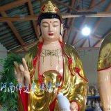 金刚密迹神像佛像 佛教护法神 雕塑彩绘 河南佛道家