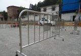 镀锌铁马马拉松赛道保障护栏厂家江西省加油站铁马围栏