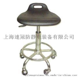 pu发泡小靠背静电椅子,防静电圆凳子,防静电工作椅