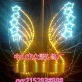 LED灯串流星雨 树上挂件灯 公园装饰灯