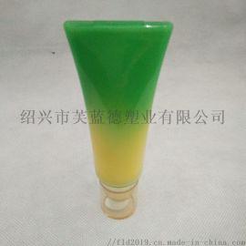 化妆品塑料瓶 30ML软管真空瓶 扁形真空罐