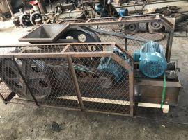 2PG锰钢加铬辊皮对辊破碎机 郑州辰源250x400对辊破碎机 高效破碎机对辊破碎机