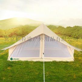 户外山行帐篷露营地帐篷双人情侣涤棉布帐篷