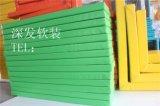 工字铁防撞墙柱垫安全软包钢柱保护垫