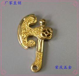 专业翻砂加工纯铜饰品,厂家直销黄铜吊坠