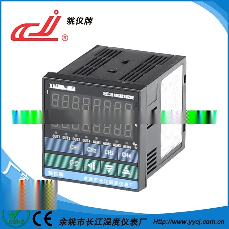 姚仪牌XMT-JK4系列XMTD-JK408万能输入4路智能温控仪可加通讯