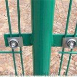 1.8米高绿色围栏网 苏州圈地围栏网 厂区围墙护栏