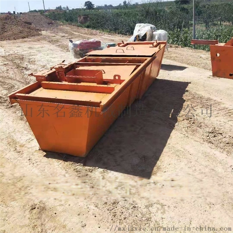 U型现浇渠道成型机 自走式混凝土渠道衬砌机