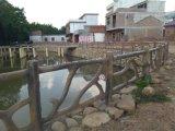 江西有几家仿木栏杆厂_仿藤护栏_河道仿木混凝土栏杆