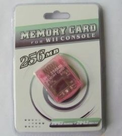 WII记忆卡