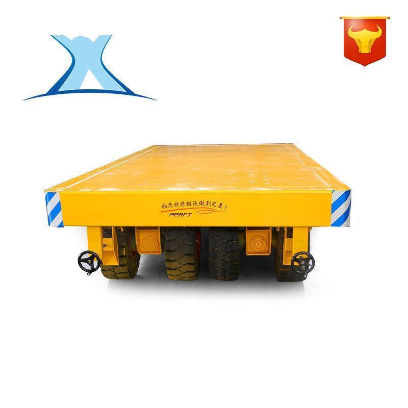非标定制智能无人液压电动平板车 无轨升降遥控平台车3吨