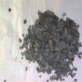 厂家批发黑色天然岩片 纯黑色薄岩片 天然彩色岩片