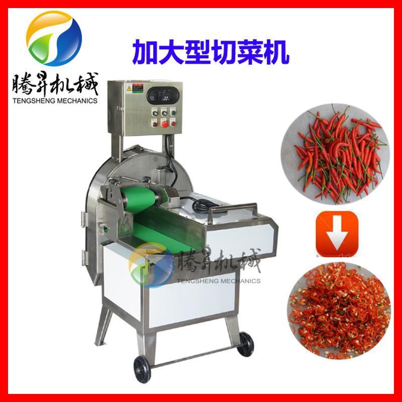 多功能蔬菜切菜机 商用切片切段 可调变频器切菜机