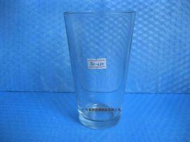 高白料玻璃水杯 开发玻璃一口杯 广告杯