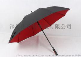 厂家直销高尔夫直杆伞 商务长伞定制 防风雨伞