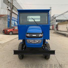 运输用柴油动力四不像/自卸式工地柴油四轮车