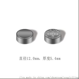 TWS真无线蓝牙耳机纽扣电池LIR1254