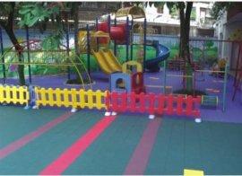環保拼裝地板懸浮地墊安全地墊幼兒園地面工程