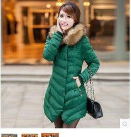 羽绒服工作服,冬装冬季防寒服保暖服装,棉衣羽绒地摊